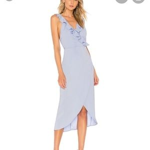 NEW NWT About Us Baby Blue Dress XXS